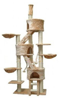 GoPetClub Jungle Gym Cat Tree / Condo