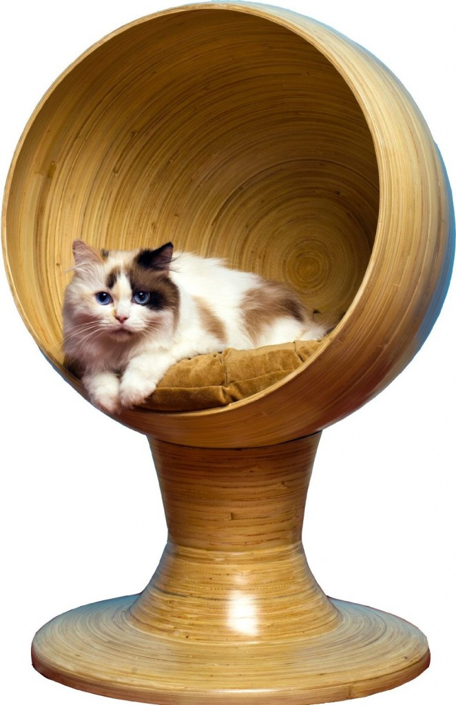 Kitty Bamboo Ball Bed