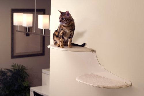 The Refined Feline Cat Cloud Cat Shelves