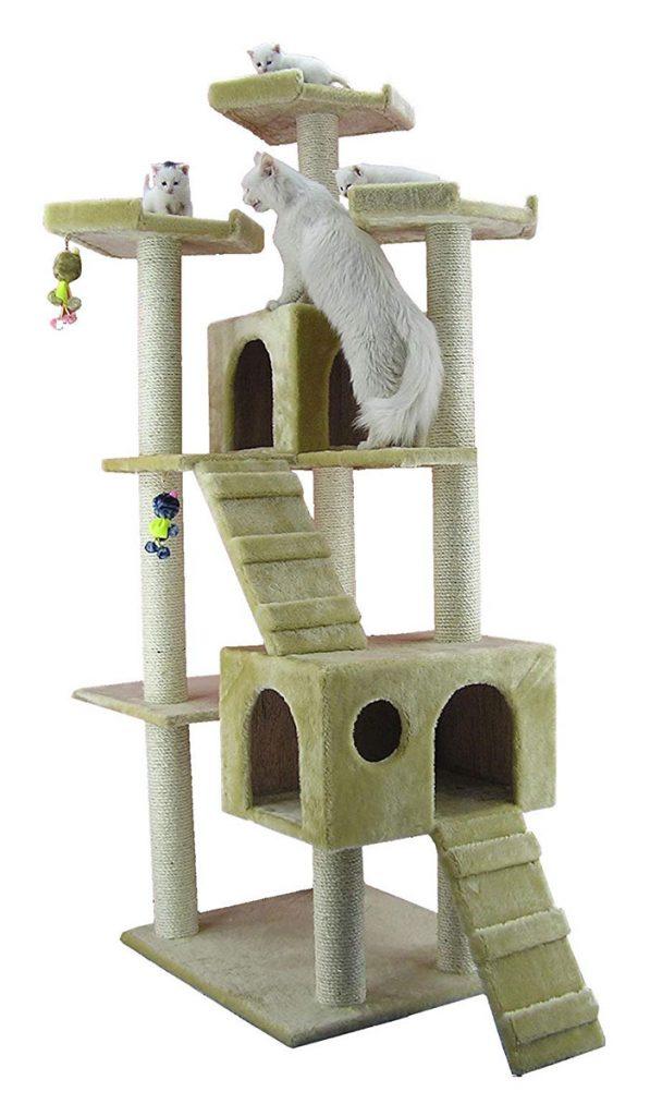 Armarkat Cat Tree 74 Inch
