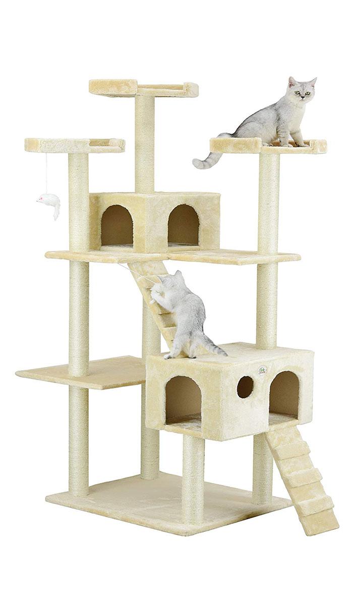 Go Pet Club Cat Tree 72 Inch